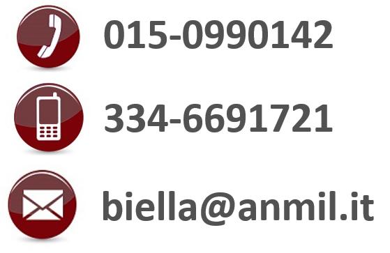 contatti telefonici anmil biella