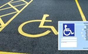 contrassegno invalidi parcheggio usabile