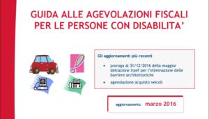 Benefici fiscali previsti per le persone con disabilità