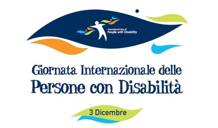 3 Dicembre Giornata Internazionale delle Persone con Disabilità