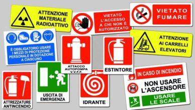 Sicurezza sul lavoro: cartelli scritti non sono formazione