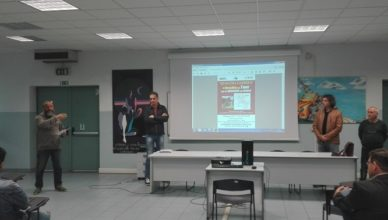 Presentazione presso istituto Gae Aulenti di Biella