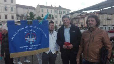 Primo Maggio Anmil Biella